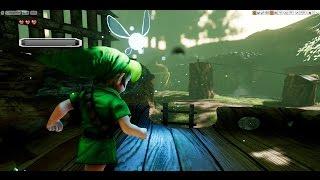 Unreal Engine 4 [4.15] Zelda Ocarina Of Time / Kokiri Forest + Download link