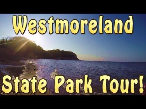 WESTMORELAND STATE PARK TOUR!!!