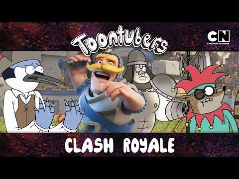 LA ARENA MÁS ÉPICA Y LEGENDARIA DE CLASH ROYALE… | Toontubers | Cartoon Network