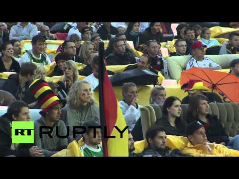 Germany: Berlin parties hard for World Cup final