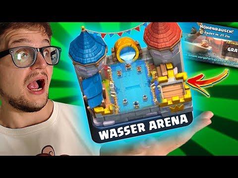 neue-wasser-arena-🌊-nur-luft-einheiten- -clash-royale-höhenrausch-challenge-deutsch