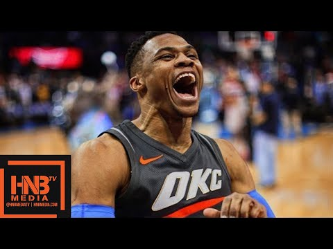 Oklahoma City Thunder vs Washington Wizards Full Game Highlights / Jan 25 / 2017-18 NBA Season
