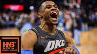 Oklahoma City Thunder vs Washington Wizards Full Game Highlights / Jan 25 / 2017-18 NBA Season
