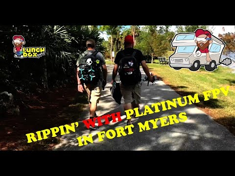 Lunchbox On Wheels - Day 24 - Rippin' With Platinum FPV
