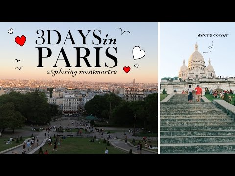 TRAVEL VLOG #8: 3 Days in Paris Part 1/2 - Eating Rabbit, Snails and Frogs Legs!