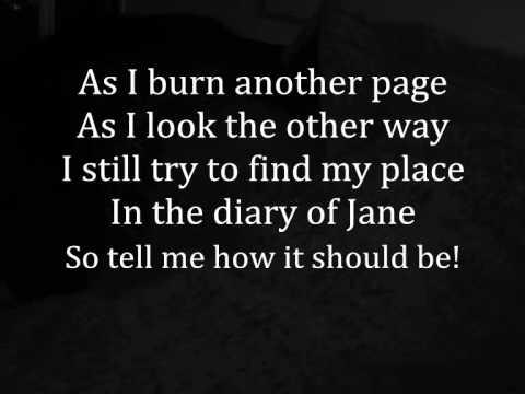 Breaking Benjamin - The Diary of Jane with Lyrics