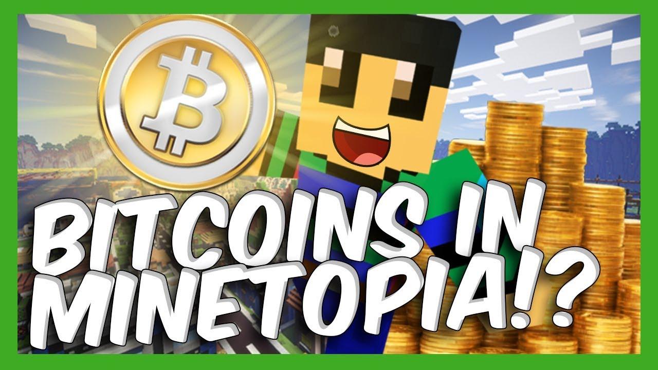 bitcoin in minecraft