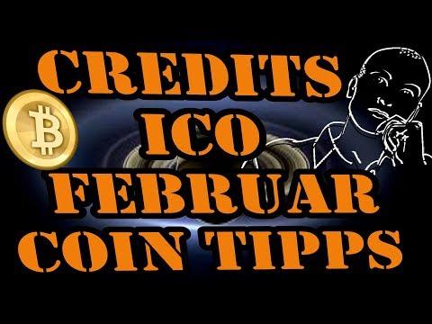 Credits ICO Coin Tipp Deutsch - Kryptowährung Deutsch / Bitcoins