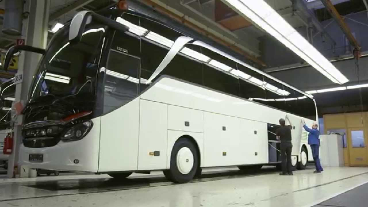 Production Setra - EvoBus Plant - Part II | AutoMotoTV ...