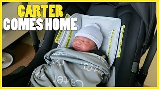 CARTER COMES HOME!