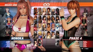 a14dce9984206 Dead or Alive 6 - All Characters Full Roster | DOA6 All DELUXE Costumes DLC  (1080p60 HD)