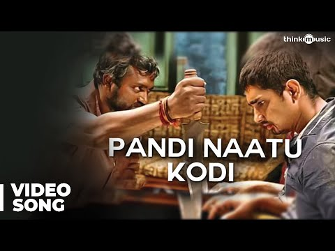 Pandi Naatu Kodi Official Full Video Song - Jigarthanda
