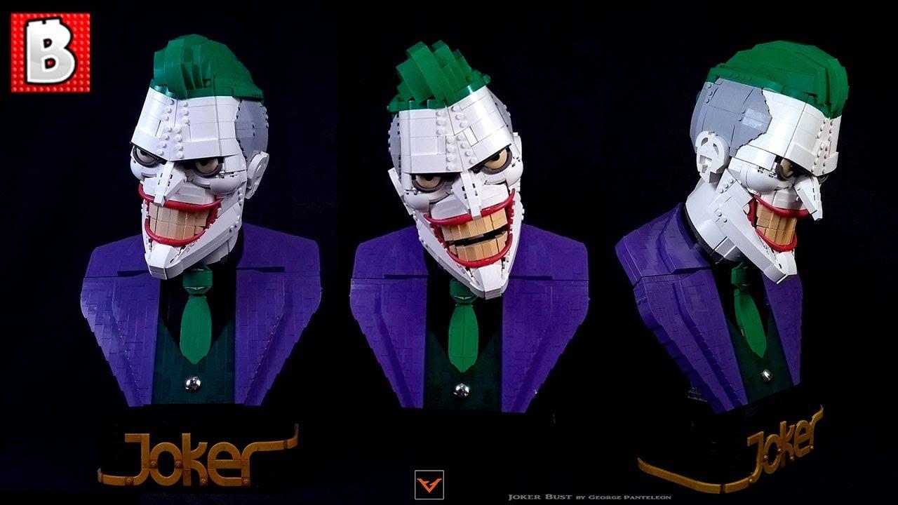 Amazing LEGO Joker Bust | Top 10 MOCs