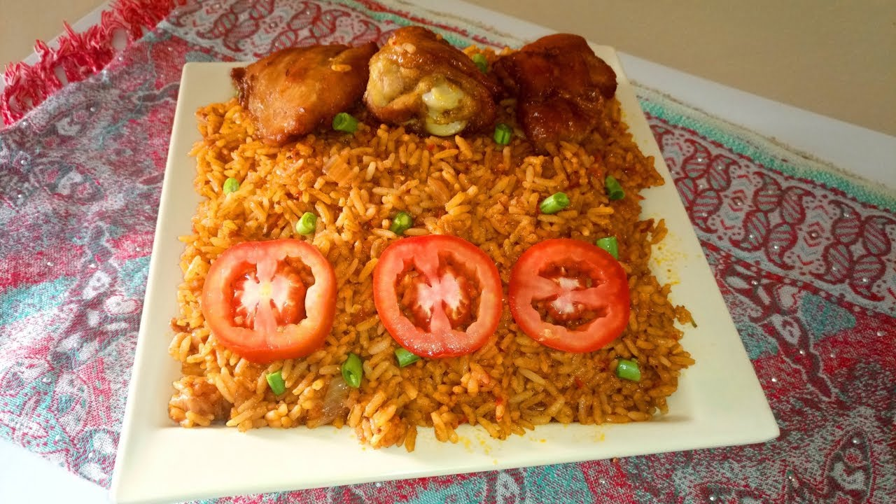 Jollof rice and chicken recipe easy party jollof rice how to make jollof rice and chicken recipe easy party jollof rice how to make christmas inspired ccuart Gallery