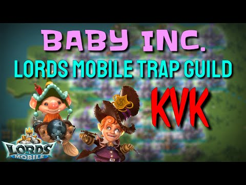 Baby Trap KVK ACTION! - Lords Mobile