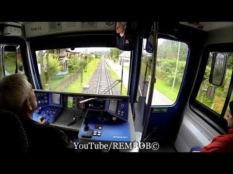 In Train Cab Of Zugspitze Cog Train From Grainau To Kreuzeck - Alpspitzbahn
