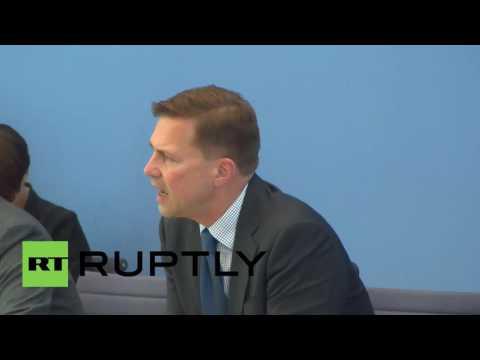 """Germany: Armenia genocide vote """"must be respected"""" - Merkel to Erdogan"""