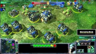 Starcraft 2 - ZvT - The Marv Point of View - The Flying Racks Manouver