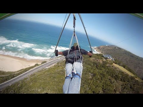 Hang Gliding 'high flight' at Map of Africa...