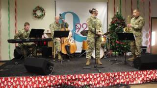 west point benny havens band performs for day 12 of joe michelle s holiday concert series