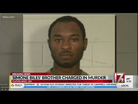 Brother of Olympic gold medalist Simone Biles charged with 3 counts of murder