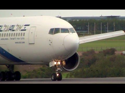 El Al Boeing 767-200ER Takeoff | Cork, Ireland