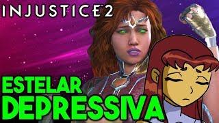 INJUSTICE 2: ESTELAR DEPRESSIVA [A PERSONAGEM MAIS MELANCÓLICA DO GAME] thumbnail