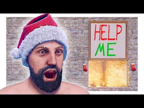 Santa TRAPS Naughty Players | Rust TRAP BASE