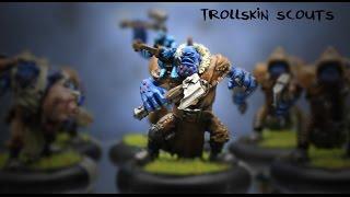 Show Case - Trollkin Scouts
