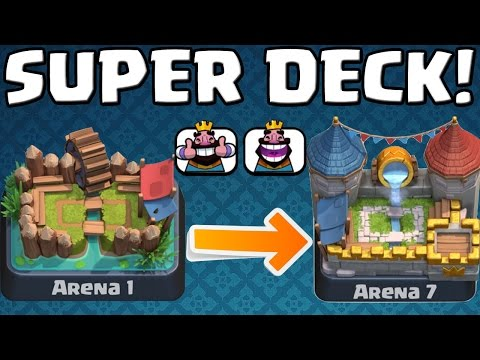 SUPER DECK BIS ARENA 7! || CLASH ROYALE || Let's Play Clash Royale [Deutsch/German HD+]