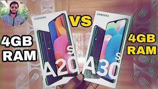 Samsung Galaxy A20s vs Galaxy A30s Speed Test Comparison?