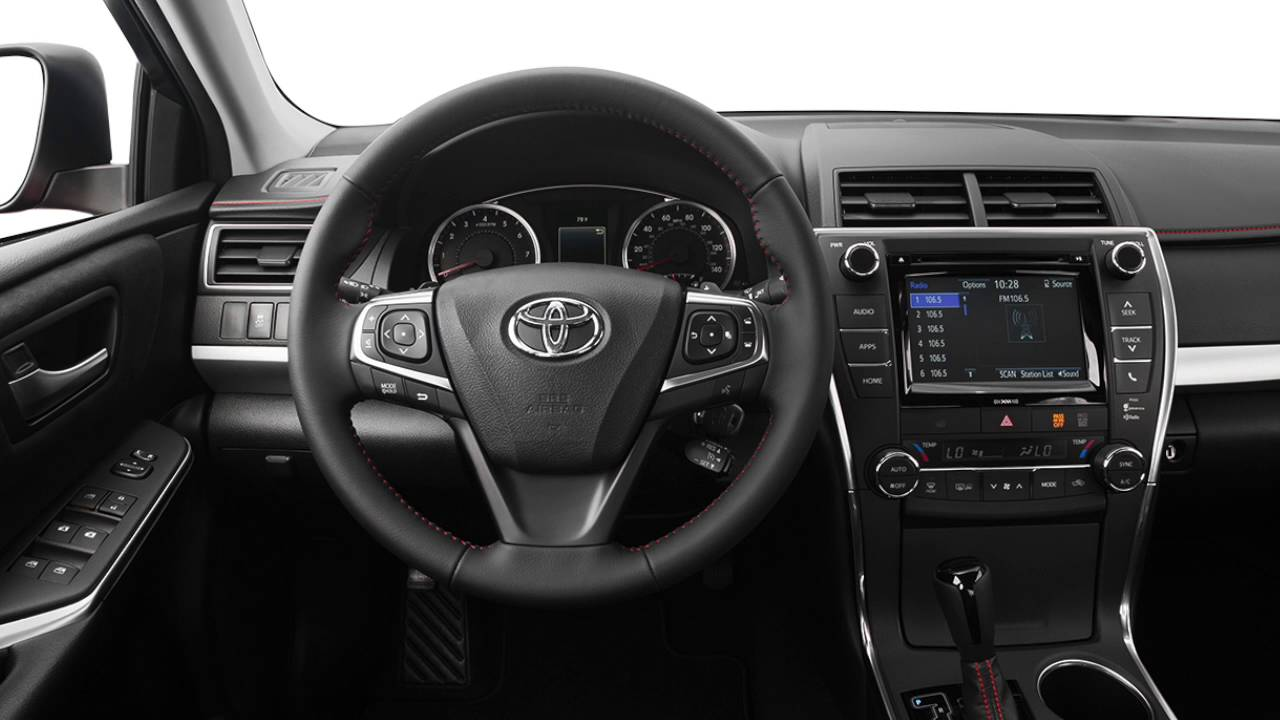 2016 Toyota Camry S Paddle Shifters Houston Youtube