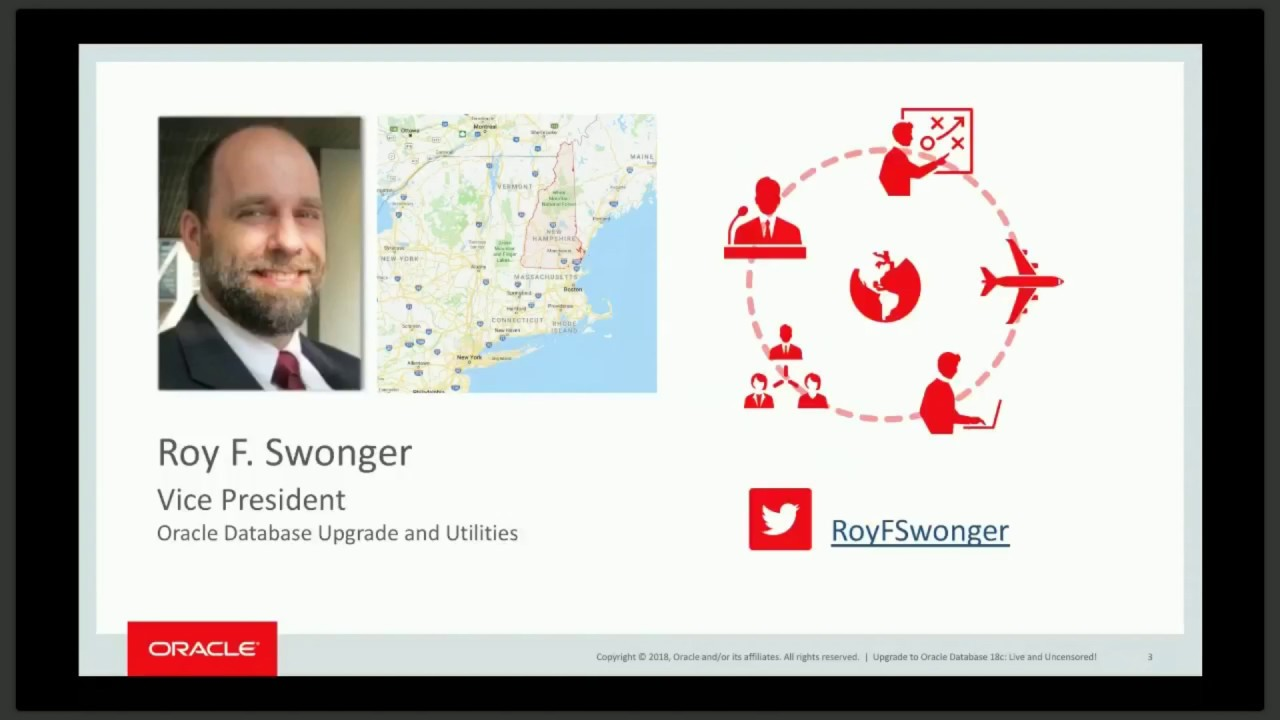 Upgrade to Oracle Database 18c: Live and Uncensored! by Roy Swonger