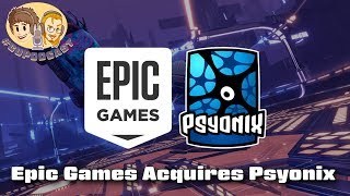 Rocket League Creator Psyonix Acquired by Epic Games