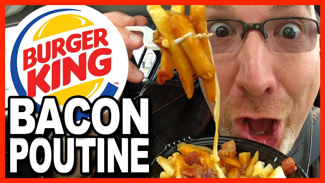 ... Poutine with Bacon Review (French Fries, Cheese Curds, Gravy & BACON
