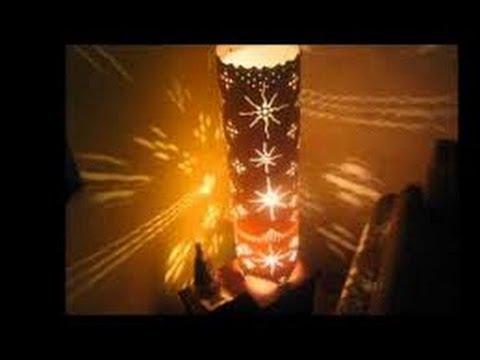 Como hacer lamparas con ca os de pvc 2 youtube - Como hacer lamparas ...