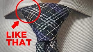 How to Tie a Tie  * WINDSOR Knot * [EASY TRICK]
