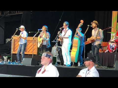 Old Crow Medicine Show At Outlaw Music Festival Hope I'm Stoned When Jesus Takes Me Home