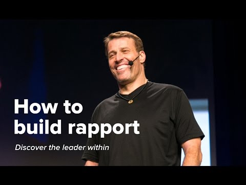 How to Build Rapport | Tony Robbins