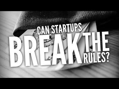 Can Startups Break the Rules?
