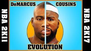 DeMARCUS COUSINS evolution [NBA 2K11 - NBA 2K17] 🏀