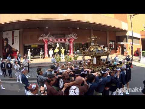 鉄砲洲稲荷神社2015 銀座八丁目東 宮入   by Masa Yama