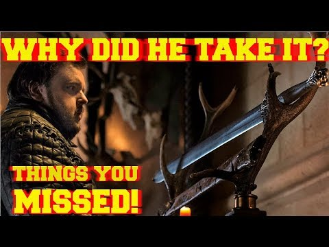 Why Did Sam Steal Heartsbane? Game Of Thrones Season 8 Things You Missed End Game Theory Predictions