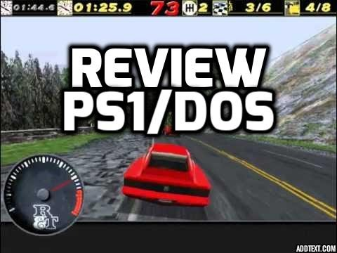 Need For Speed Presented By Road & Track (PS1 / Windows DOS)