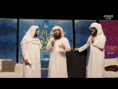 Mufti Menk, Mansur Al Salimi & Nayef Al Sahafi - Light upon Light Conference UK 2017