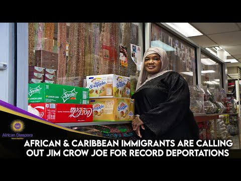 African & Caribbean Immigrants Are Calling Out Jim Crow Joe For Record Deportations