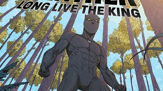 Black panther long live the king number one review