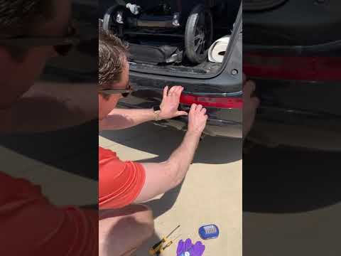 2012 Audi Q5 Tail Light Assembly Removal Youtube