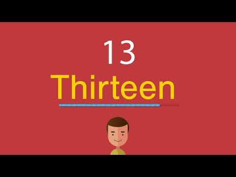 Как произносится 14 на английском