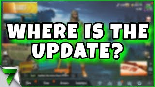 WHERE IS THE NEW UPDATE? | PUBG MOBILE